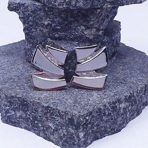 Vintage Trifari Silver Tone Clip-On Earrings
